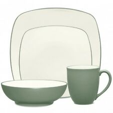 Noritake Colorwave Green Square 32Pc Dinnerware Set, Service for 8
