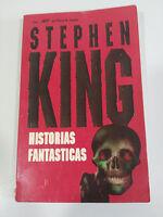 STEPHEN KING HISTORIAS FANTASTICAS LIBRO PLAZA & JANES COLECCION JET 186 PAGS
