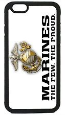 Marines USMC Marine Corps for iPhone 4 4s 5 5s 6 6 Plus Protective Case