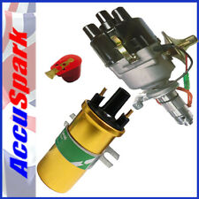 Land Rover  AccuSpark Electronic 45D distributor,Lucas Sport coil red rotor