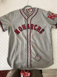 Negro League Baseball Jersey - Kansas City Monarchs 22. Ebbets Field Flannels.