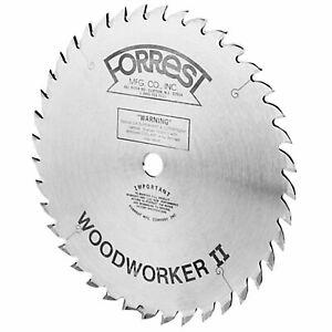 Forrest Woodworker II Saw Blades