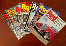Rod Action Magazines - Volume 5 - 1976 - 7 Issues