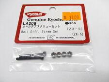 Genuine Kyosho ZX-5 Ball Differential Screw Set #LA208 OZ RC Models