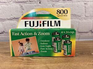 Fiji-film Superia Xtra 4 Rolls Film Sealed Box 800 Speed 35 Mm Film Exp 6/2009