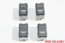 4 x Fits FOR AUDI 80 A4 A6 Electric Power Window Switch Older Button Four 4pcs
