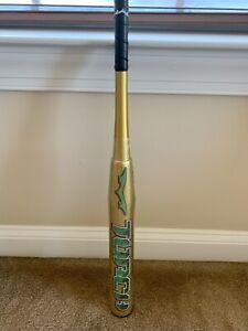 25oz Monsta Gold Green Apple Torch Limited Edition Softball Bat Brand New