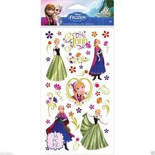 Disney Frozen Stickers - Anna & Flowers flat Stickers #1514