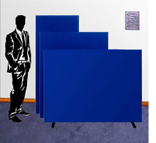 Office Partition Screen Divider Floor Panel - 3 Heights 7 Widths  9 Colours