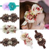 bébé les filles pierre pearl turban les fleurs bandeau bande de cheveux