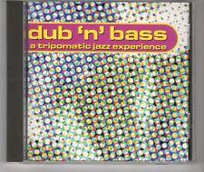 (HH557) Dub N Bass, A Tripomatic Jazz Experience, 10 tracks - 1997 CD