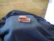 "Vintage Tootsietoy Ford Sedan 2 1/2"" Red"