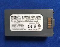 Hitech USA(Japan Liion 5Ah) For Symbol P/N.:82-127909-02...MC3100R,MC3190R...eq