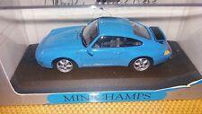 Minichamps 1/43 Porsche 911 Coupe 1993 blue