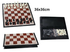 Scacchiera magnetica da viaggio per auto treno aereo scacchi magnetici 30x30 cm