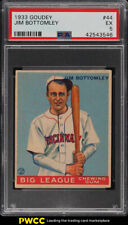 1933 Goudey Jim Bottomley #44 PSA 5 EX