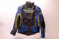 Fly Racing 470-2161L Snowcross Jacket Blue/Black/Yellow Lg Large NOS
