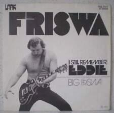 "FRISWA Eddie / Big Friswa RARE 7"" 1974 progr rock / r&r BELGIUM Jenghiz Khan"
