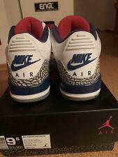 Nike Air Jordan 3 Retro OG True Blue Neu EUR 43