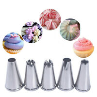Steel Pastry Tips Icing Piping Nozzles Baking Mold Cream Nozzle Ice Cream Tool