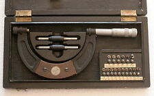 Vintage German Screw Thread Micrometer SUHL 75-100mm - NEW! - #1