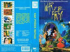 FUGLEKRIGEN I KANOFLESKOVEN aka WAR OF THE BIRDS (1990) ANIMATION - CROATIAN VHS