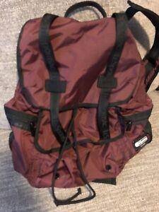 Lesportsac Voyager Backpack Burgundy