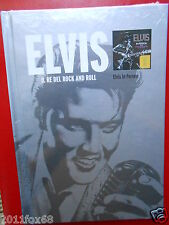 elvis presley il re del rock and roll elvis in person book + 1 cd 2010 raro f id