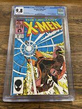 Uncanny X-Men #221 CGC 9.8 White Pages 1st App of Mister Sinister Key 🔑