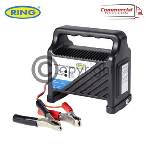 NEW RING AUTOMOTIVE 12V 4AMP CAR/VAN/BIKE COMPACT BATTERY CHARGER RCB4