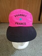 Vuarnet France Hat Neon Pink & Black - Hat 5 Panel Cap Straback Rare