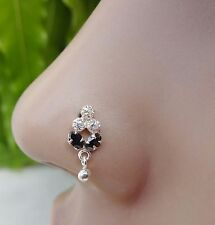 Nose Jewelry Indian Nose Ring Nose Piercing Feather Crock Screw Nose Stud .