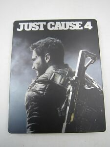 PS4 Xbox One 1 Just Cause 4 Four Day One 1 Edition Game Case Steelbook NO GAME