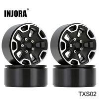 "(4)Metal 1.9"" Beadlock Wheels for 1/10 RC Jeep Wrangler Axial SCX10 90046 TRX4"