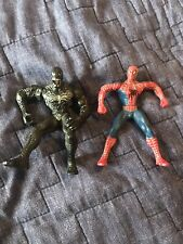 Marvel Spider-Man  And Venom 3in Action Figures Lot
