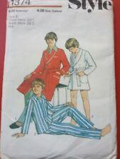Boys size 6 pajamas and robe