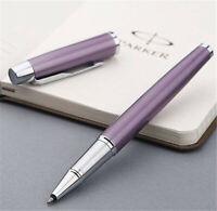 Perfect Parker IM Series Purple Color Silver Clip 0.5mm Fine Nib Rollerball Pen