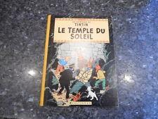 belle reedition tintin le temple du soleil  b29 1960/61