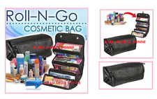ROLL-N-GO MAKEUP CASE COSMETICI BORSA ROLL UP CUSTODIA DA VIAGGIO BORSA VIAGGIO