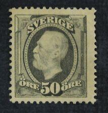CKStamps: Sweden Stamps Collection Scott#64 Unused NG Lightly Crease