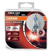 OSRAM HB3 NIGHT BREAKER UNLIMITED 12V 60W 1x Duo Box (2er Set) +110% - 9005NBU