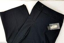 APT. 9 Modern Fit Black Stripe Women's Career Casual Pants Size 10 NWT MSRP $44
