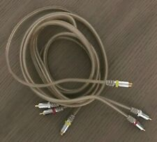 S-Video + RCA Stereo Audio Molded Cable Combo Gold Plated Contacts