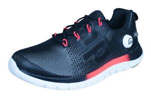 Reebok ZPump Fusion PU Womens Running Trainers / Sports Shoes - Black