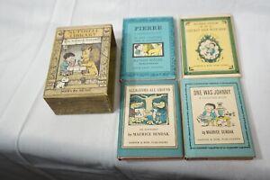 VINTAGE NUTSHELL LIBRARY MAURICE SENDAK 1962 1ST ED 4 BOOK BOXED SET HC DJ