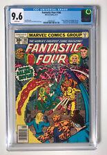 Fantastic Four #186 CGC 9.6 NM+ White Pages *1st Salem's Seven App*  MARVEL