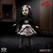 Living Dead Doll Halloween Black / White Variant - Sweet Tooth By Mezco IN STOCK