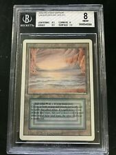 Magic the Gathering Revised Underground Sea Graded 8 BGS NM-MT (8.5/8/8.5/7.5)