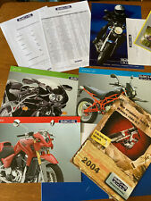 Vintage motorcycle brochure SACHS V twin sports MOPED PRESS PACK MadAss 50 2004