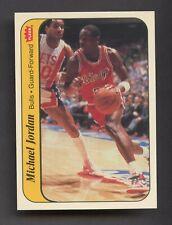 1986 Fleer Sticker Basketball #8 Michael Jordan Chicago Bulls RC Rookie HOF